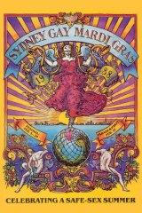 David McDiarmid's 1988 Mardi Gras poster.
