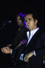 Nick Cave plays the Brisbane Riverstage on Wednesday, January 25, 2017.