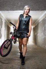 Australian BMX rider Caroline Buchanan has a huge social media following.