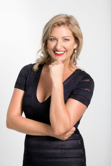 Founder and chief executive Jenene Crossan of Flossie.