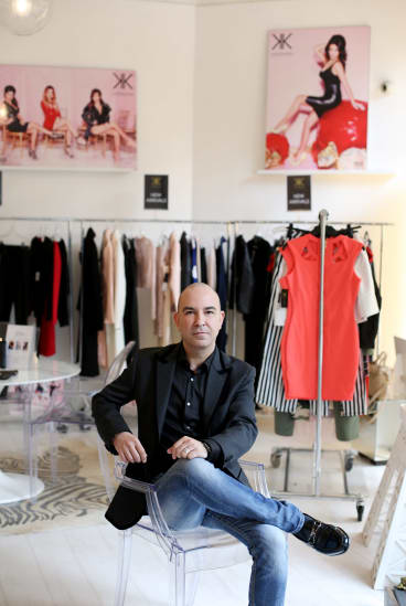 Fashion designer and manufacturer Bruno Schiavi's partnership with the Kardashians has proved lucrative.