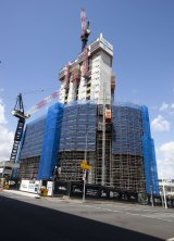 1 William St under construction last year.