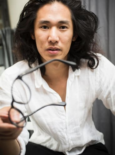 """Allen Liao is launching a range of """"unlosable"""" glasses with GPS tracking."""