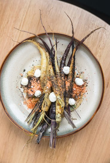The Heirloom Carrots at Nomada.