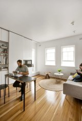 The apartment of architect, Brad Swartz