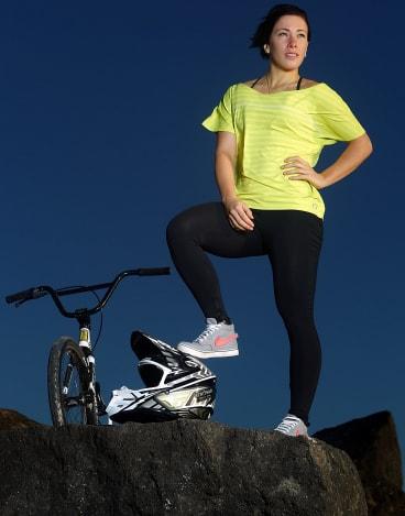 Caroline Buchanan has set her sights on Olympic Games retribution.