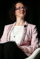 Telstra executive director Jane Van Beelen.