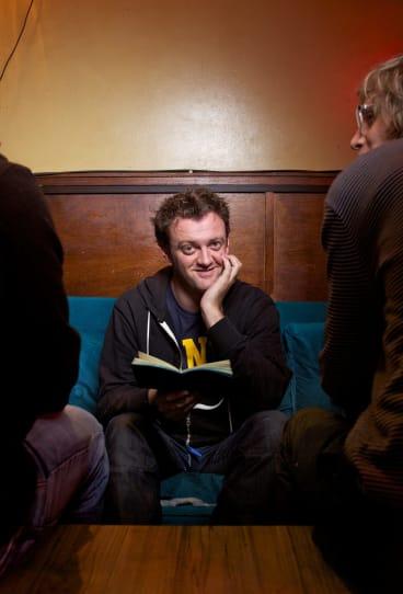 Karl Chandler hosts one of Australia's most popular comedy podcasts, <i>The Little Dum Dum Club</i>.