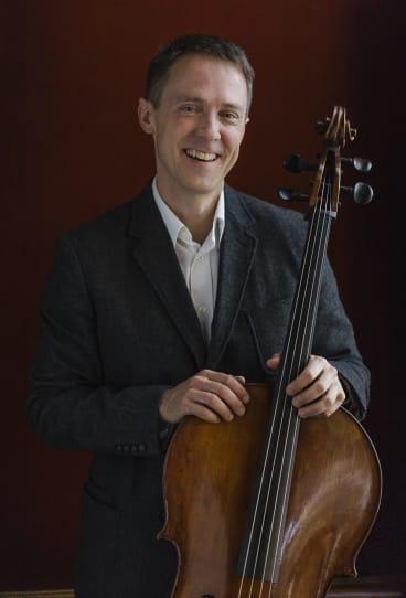 Expressive freedom: cellist Daniel Yeadon.