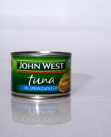 John West tuna is one of the brands owned by food company Simplot, which is unhappy about the 1.5 per cent cut to R&D tax concessions.
