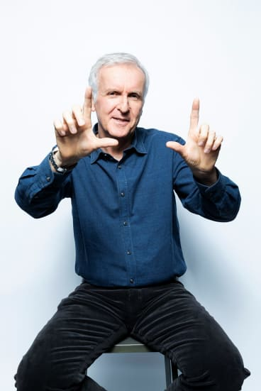 """I can still be exacting,"" James Cameron says."