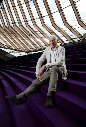 Jan Utzon, son of Jorn Utzon who was the original architect of the Opera House, is in Australia for the 60th Good Design Awards.