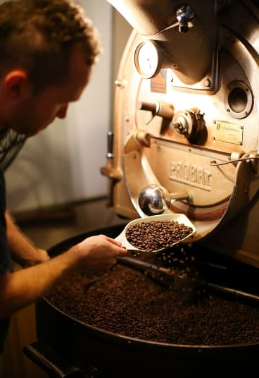 The antioxidant properties of coffee beans change on roasting.
