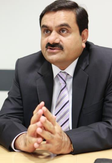 Indian billionaire Gautam Adani.