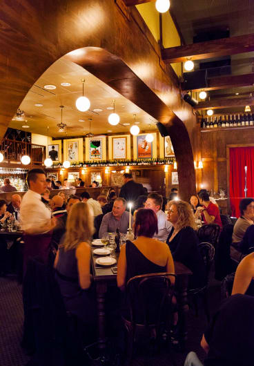 Restaurant Hubert, Sydney.