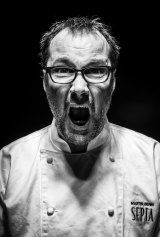 Martin Benn, head chef and co-owner of at Sepia Restaurant.