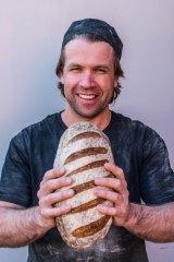 Baker Ben Gower at Geelong's Born & Bread.