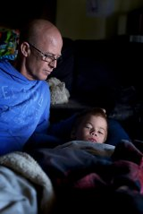 Colin Strachan says what happened to his family has made him feel powerless.