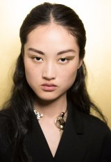 Peter Philips' gold winged eyeliner for Dior.