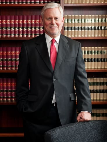 Justice Richard White of the Federal Court.