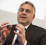 "Treasurer Joe Hockey says it is ""hard to argue"" with an increase in jobs of 38,000."