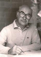 Architect of Parliament House Romaldo Giurgola in Canberra 1982.