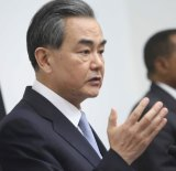 China's foreign affairs minister, Wang Yi.