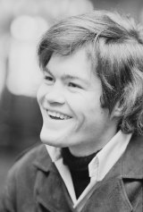 A mop-haired Mickey Dolenz at the peak of fame.