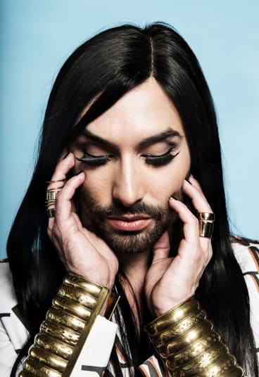 Conchita Wurst has received both praise and criticism since winning the 2014 Eurovision song contest.