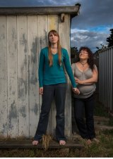 Bernadette and Tahlia.
