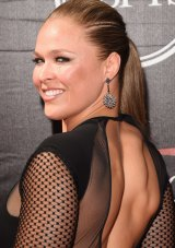 Ronda Rousey attends the 2015 ESPYs sporting awards in Los Angeles in July.