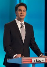 Leader of Britain's opposition Labour Party: Ed Miliband.