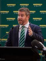 Nationals WA leader Brendon Grylls has called for a higher tax on mining companies.