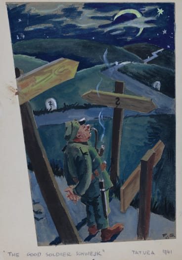 The Good Soldier Schwejk by Fritz Schonbach.