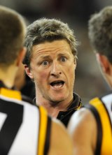 Damien Hardwick was an assistant coach at Hawthorn.