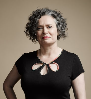 """If I were worth hundreds of millions of dollars, I would never do stand-up again."": Judith Lucy."