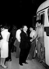 The Aboriginal Freedom Riders in Casino, New South Wales, in February 1965.