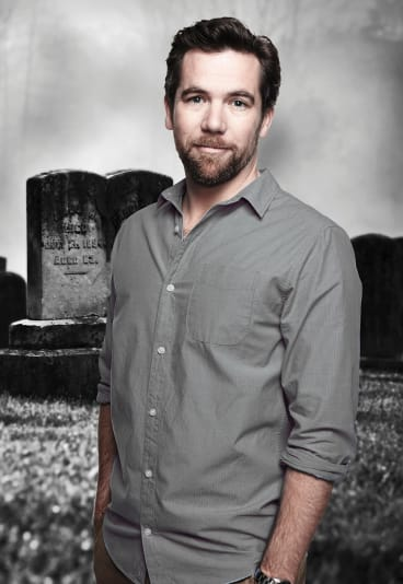 Man of the hour: Actor Patrick Brammall.