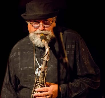 American saxophonist Joe Lovano brought both tender tones and fierce sounds to the stage.