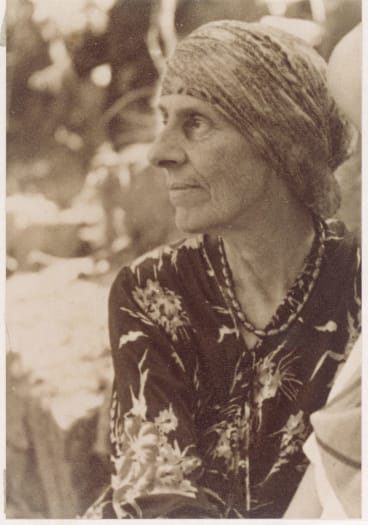 Marion Mahony Griffin in her later years.