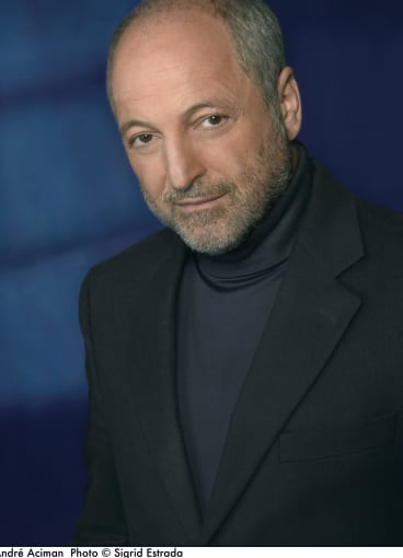 """Andre Aciman: """"It is about love. Forget that it is gay, it is about love."""""""