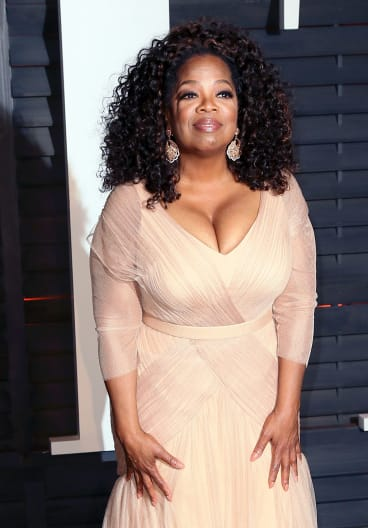 Oprah Winfrey has found she can function on five-and-a-half hours of sleep.