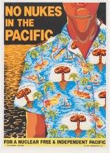 Pam Debenham's <i>No Nukes in the Pacific</i> poster.