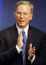 Liaised with Jobs: former Google CEO Eric Schmidt.