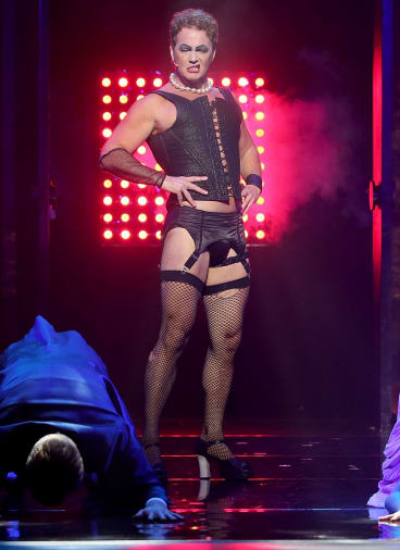 Suspended: The series was put on hold when three women from the cast of The Rocky Horror show made claims against McLachlan.