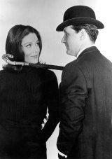 Dame Diana Rigg and Patrick Macnee in The Avengers, which Ray Menmuir worked on.
