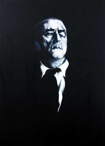 Nigel Milsom's <i>Uncle Paddy</i>, which won the $150,000 Doug Moran National Portrait Prize in 2013.