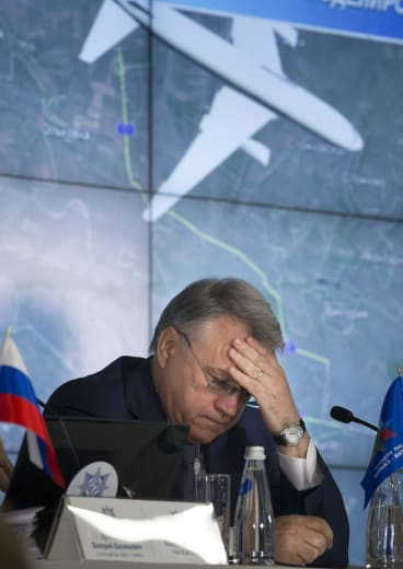 """Almaz-Antey director Yan Novikov: """"If the Boeing was downed with an air defence missile, it could be only Buk-M1."""""""