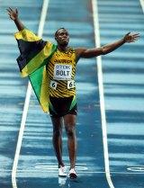 Globally revered sprinter Usain Bolt.
