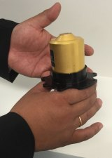 Vital part: The Distributed Aperture System sensor being produced in Australia.